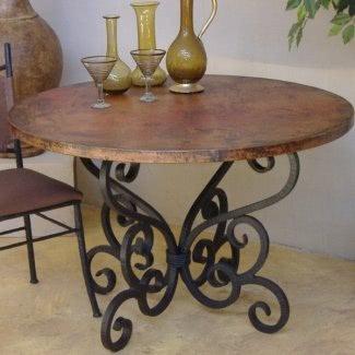 Base de madera para mesa de vidrio