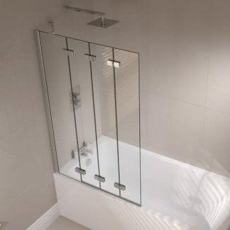 Puerta abatible para bañera
