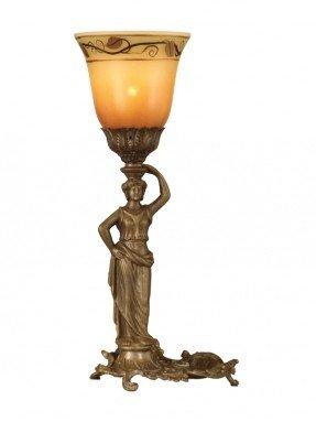 """Lámpara de mesa Lady 17.5 """"H con pantalla de campana"""