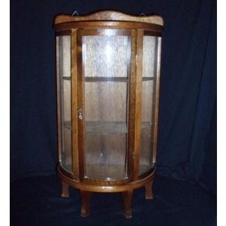 Vitrina de vidrio antiguo
