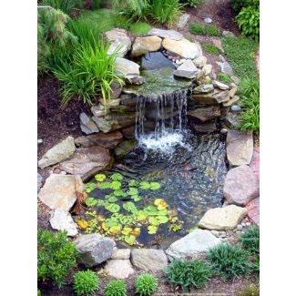 Ideas de paisajismo de fuentes de agua