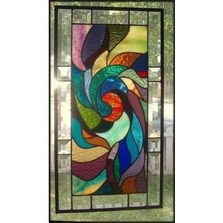Paneles de vidriera de Tiffany 11