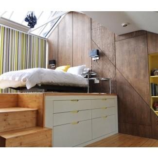 Habitación loft habitación contemporánea londres