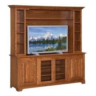Diseños de soportes de televisión de madera