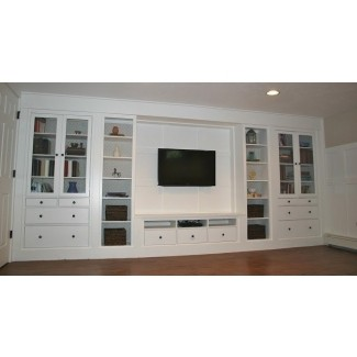 Mueble de televisión de madera maciza 1