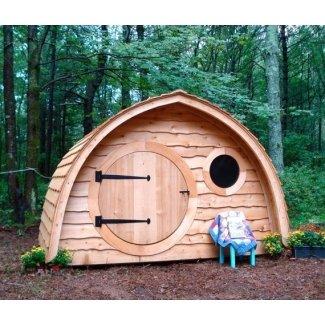 Hobbit Hole Playhouse Kit al aire libre de madera
