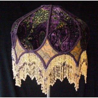 Pantallas de lámparas victorianas vintage