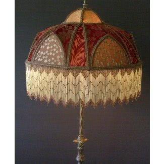 Pantallas de lámpara con cuentas victorianas 1