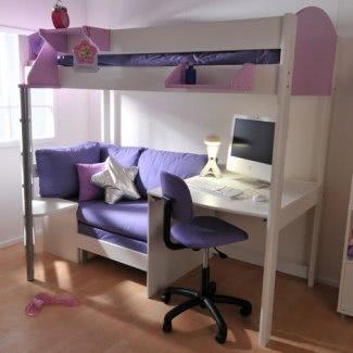Litera futón con escritorio