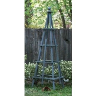Enrejado de obelisco de jardín
