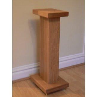 Soportes para altavoces de madera dura