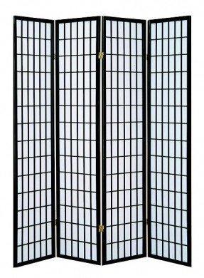 """Separador de ambientes de 4 paneles Dean 70 """"x 69"""""""