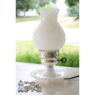 Lámpara de cristal de leche 2