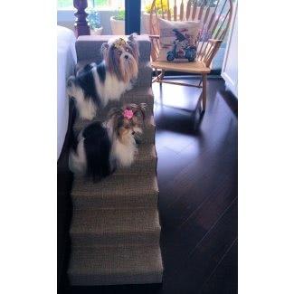 Escaleras para perros para cama alta 1