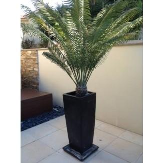 Jardineras altas de cerámica 1