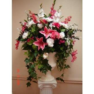 Grandes arreglos florales de seda 1