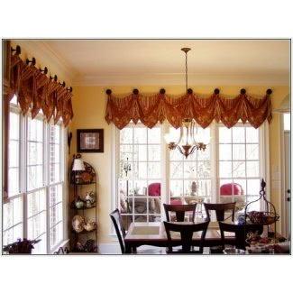 Ideas de cortinas para ventanas anchas y cortas