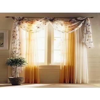 Ideas para pañuelos de ventana