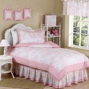 Colección de ropa de cama para niños Pink Toile