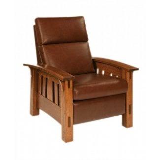 Sillón reclinable estilo Craftsman