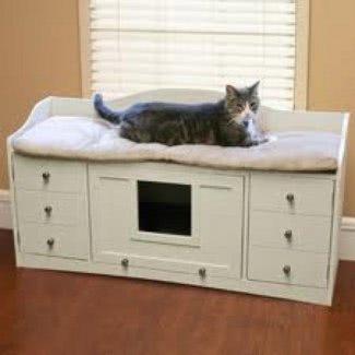 Caja de caja para gatos