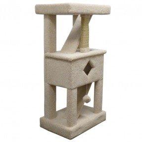 "58 ""Premier Solid Wood Cat Tree"