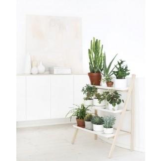 Soporte de plantas en niveles para interiores