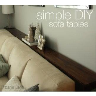 Mesa de sofá estrecha 1