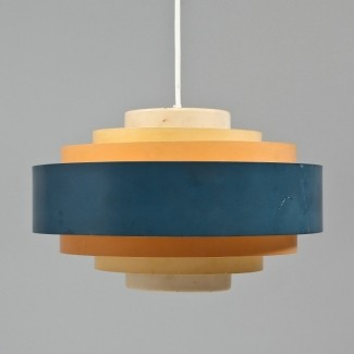 Lámpara colgante de papel 1