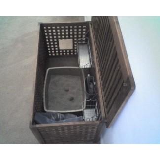 Muebles de caja de arena grande