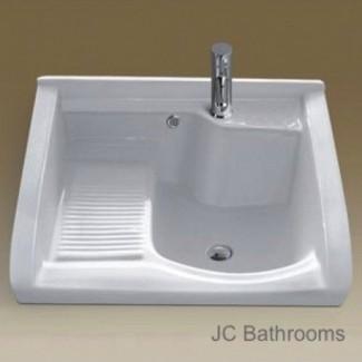 Fregadero de cerámica para lavadero csl700