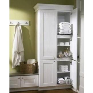 Armarios altos para ropa blanca para baño