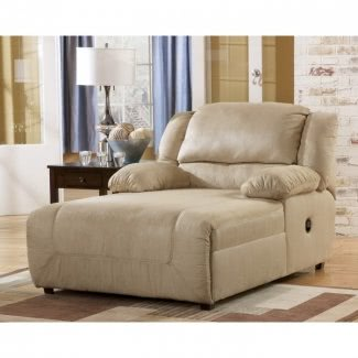 Chaise lounge chair interior