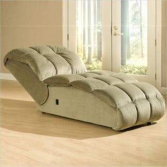 Sofá chaise lounge de gran tamaño