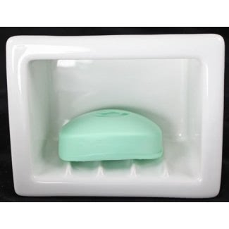 Jabonera de cerámica para ducha 1