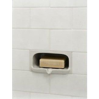 Jabonera de cerámica para ducha