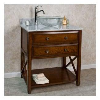 Mesa de lavabo de vasija