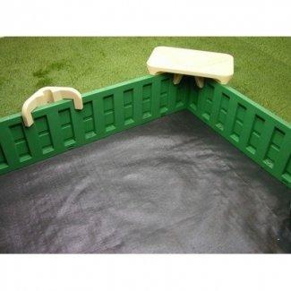 Cajas de arena 10 cajas de arena rectangulares con tapa 1