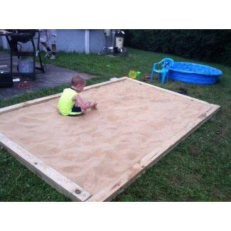 Caja de arena para niños