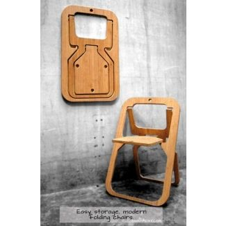 Lindas sillas plegables