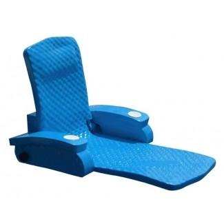 Tumbona de piscina reclinable ajustable súper suave