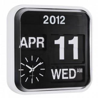 Reloj con fecha y hora