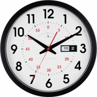 """Reloj de pared con fecha y día de 14 """""""