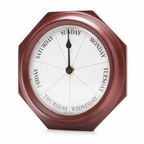 Reloj de pared de día