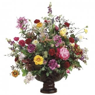 Arreglos de flores de seda tropical