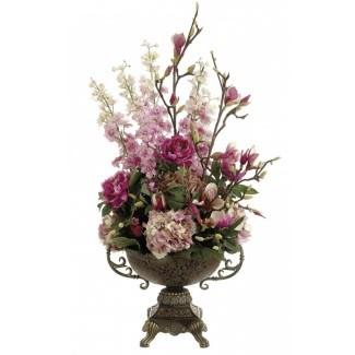 Grandes arreglos florales artificiales