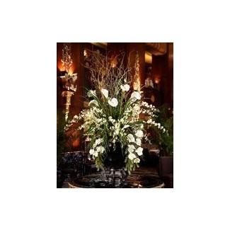Centros de mesa de flores grandes