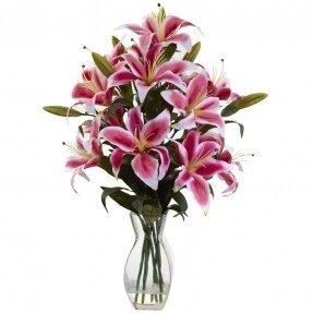 Arreglos florales de lirio Rubrum