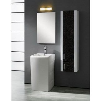 Lavabos de pedestal modernos para baños pequeños