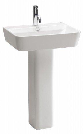 Lavabo de baño con pedestal Emma